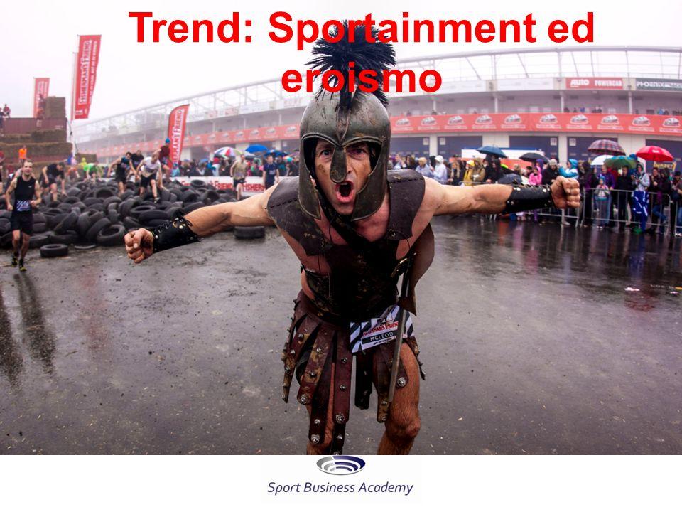 Trend: Sportainment ed eroismo