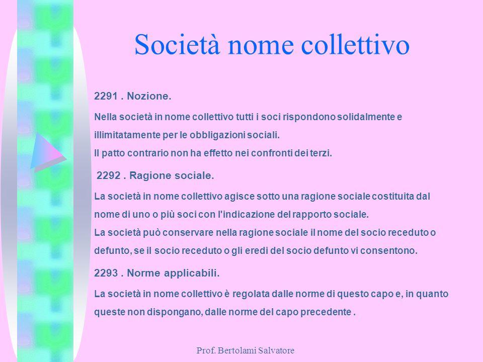 Società nome collettivo