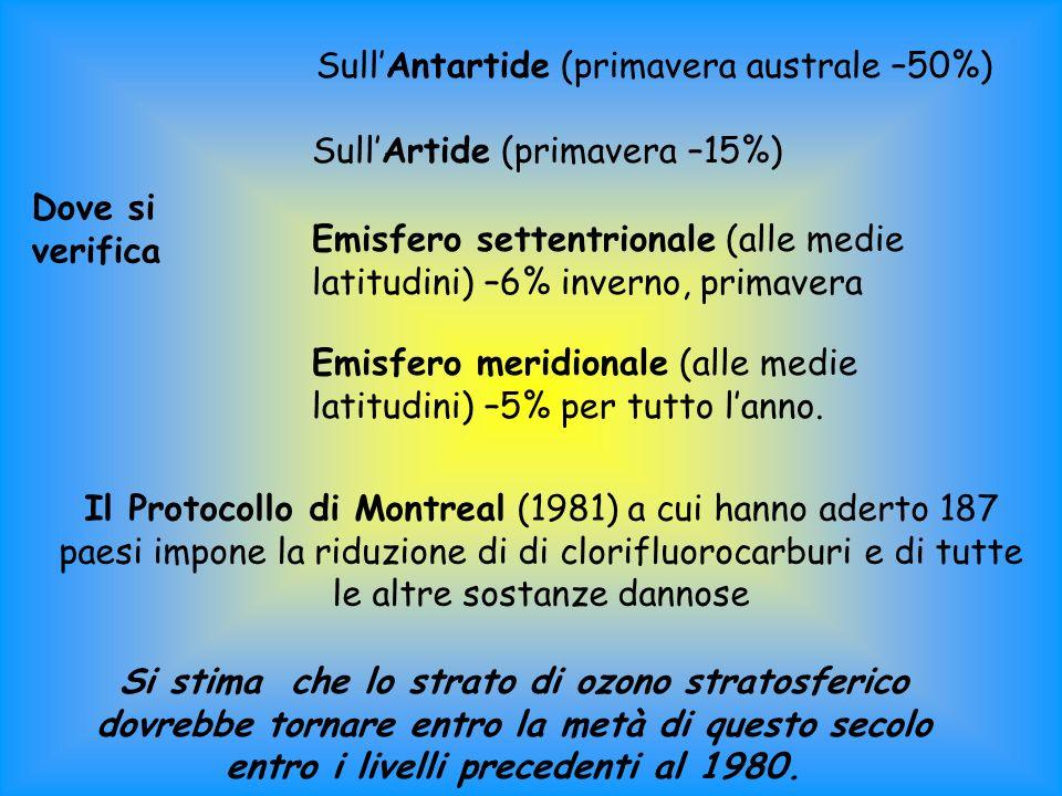 Sull'Antartide (primavera australe –50%)