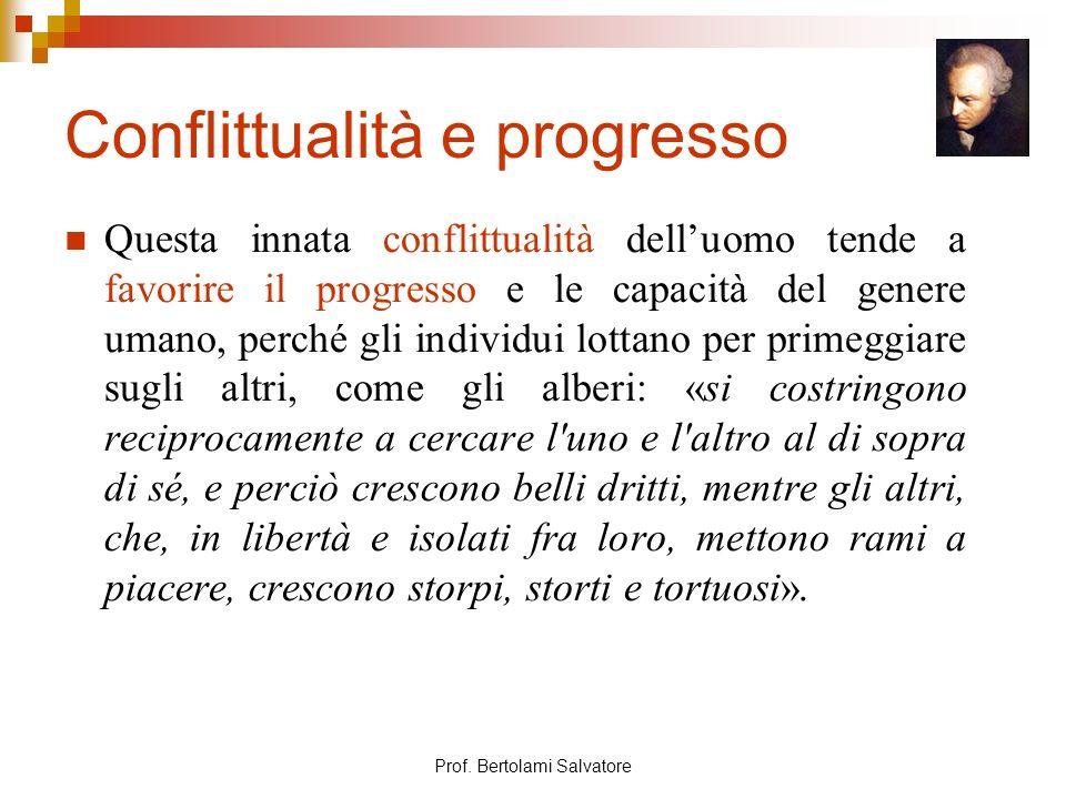 Conflittualità e progresso