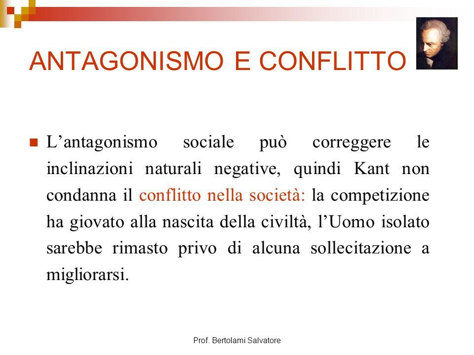 ANTAGONISMO E CONFLITTO