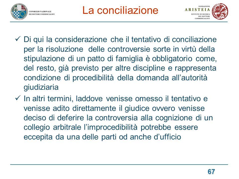 La conciliazione