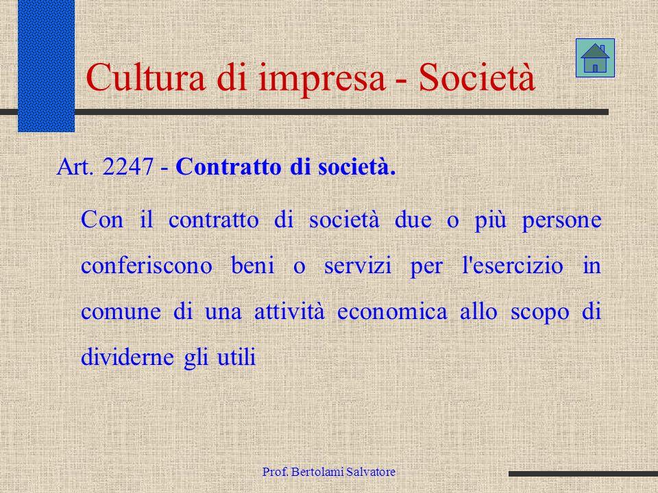 Cultura di impresa - Società