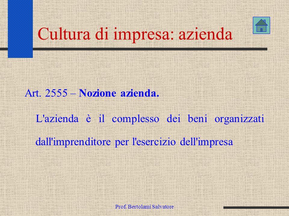 Cultura di impresa: azienda