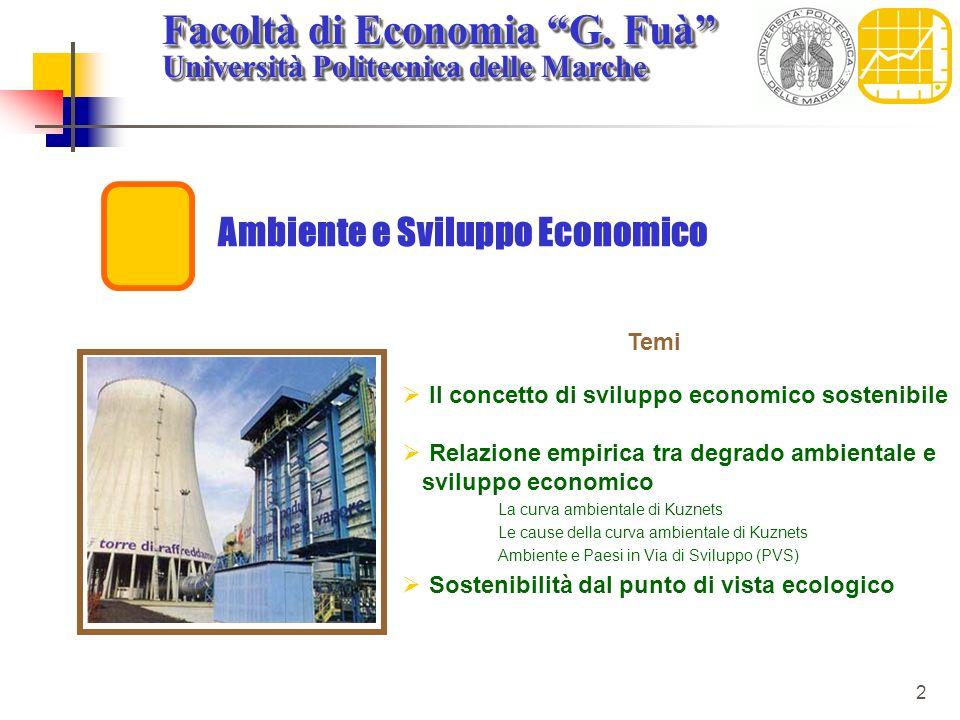 Ambiente e Sviluppo Economico