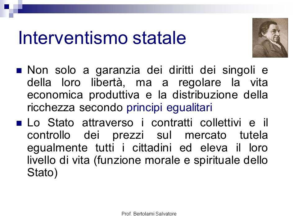 Interventismo statale