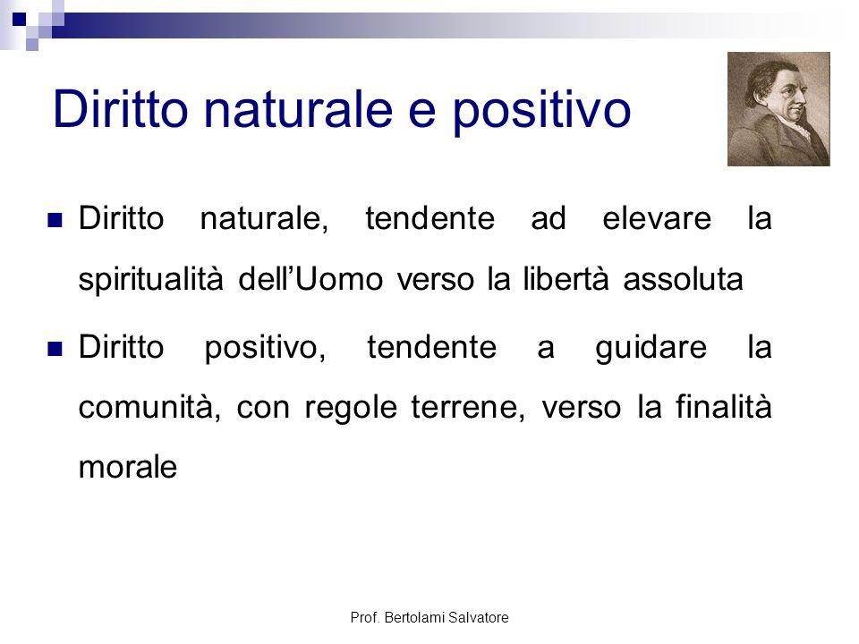 Diritto naturale e positivo