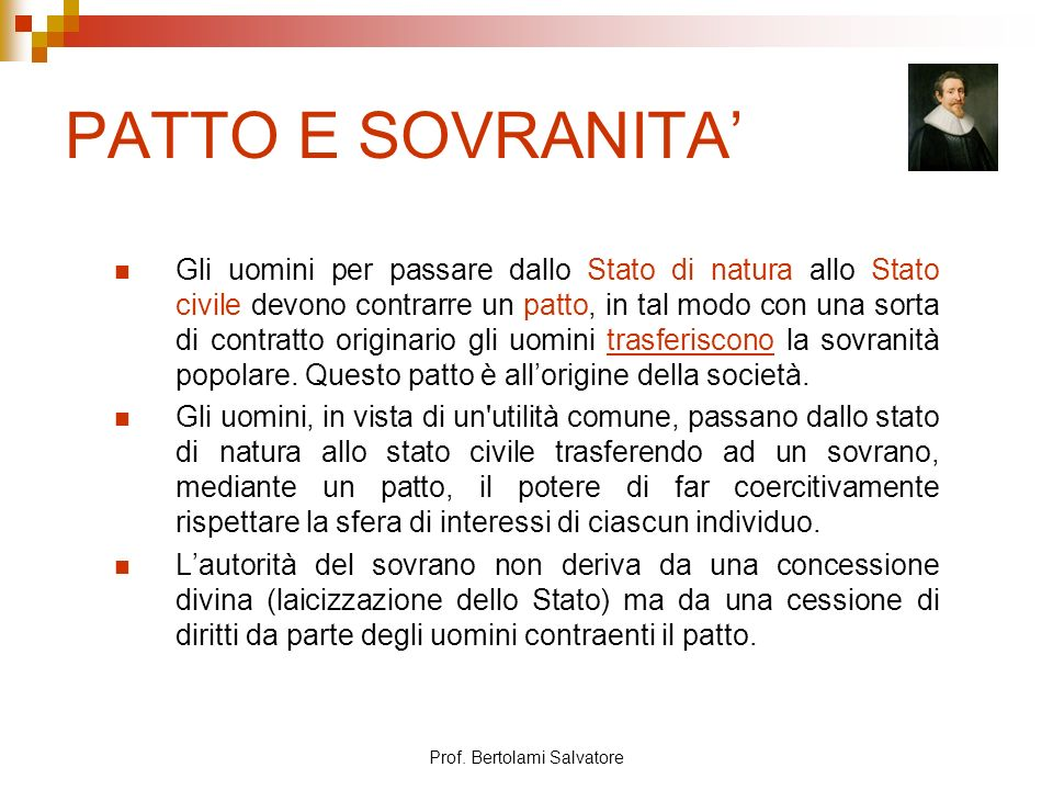 Prof. Bertolami Salvatore