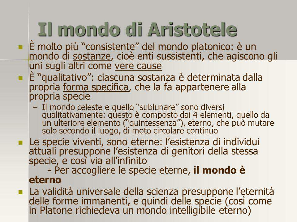Il mondo di Aristotele
