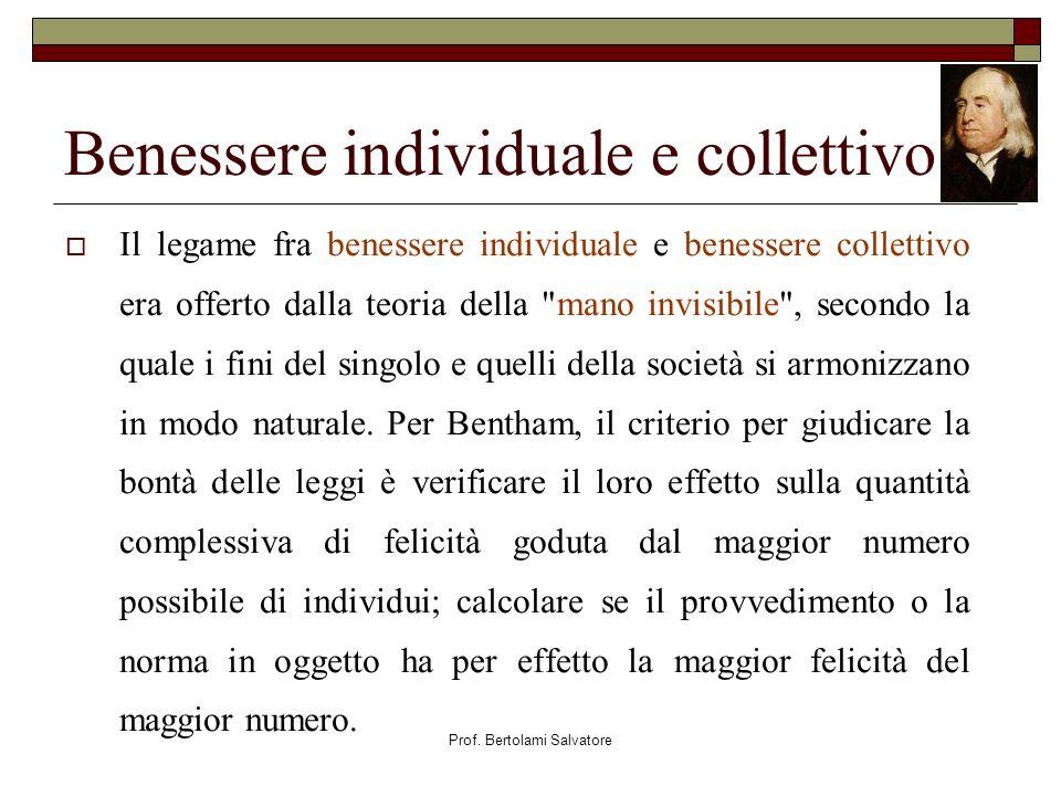Benessere individuale e collettivo