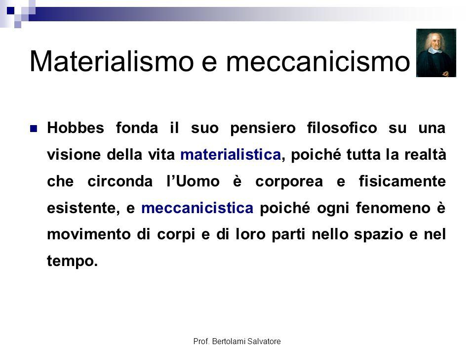 Materialismo e meccanicismo