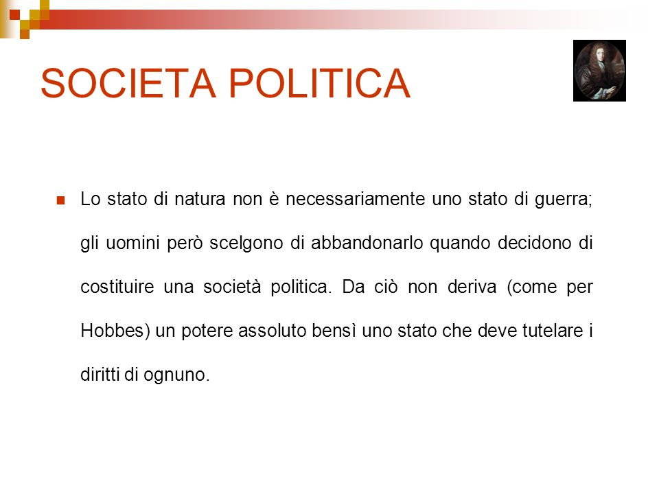 SOCIETA POLITICA