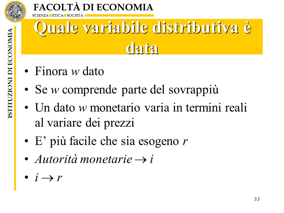Quale variabile distributiva è data
