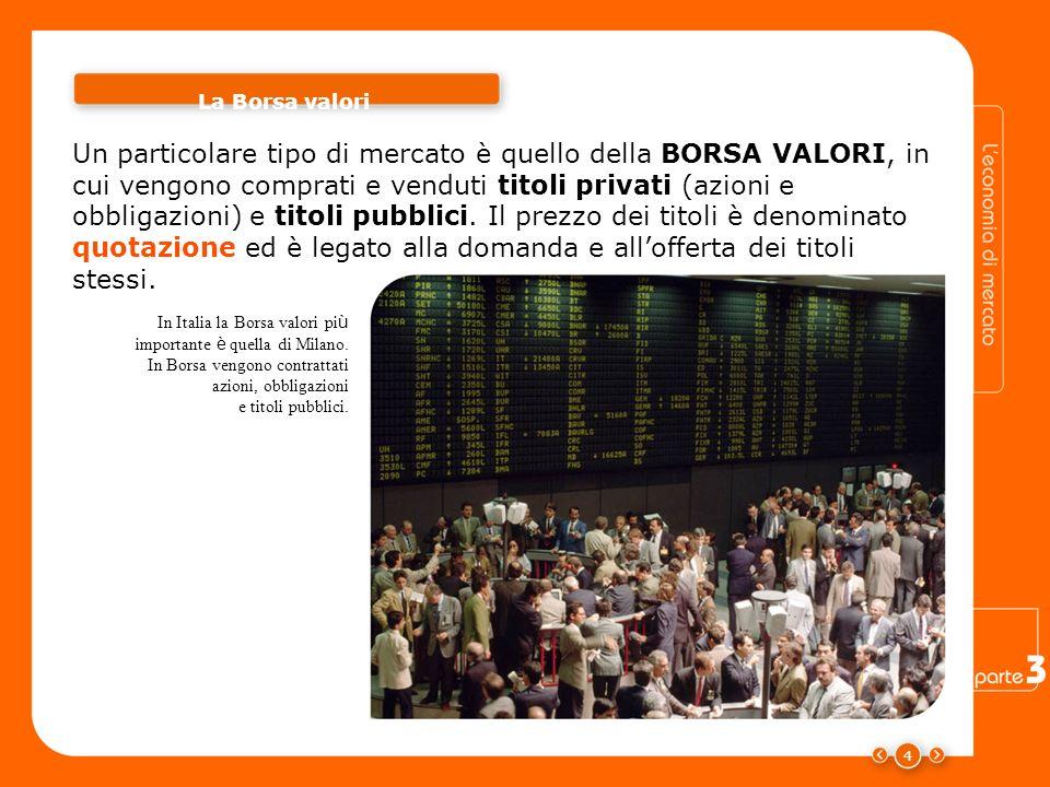 La Borsa valori