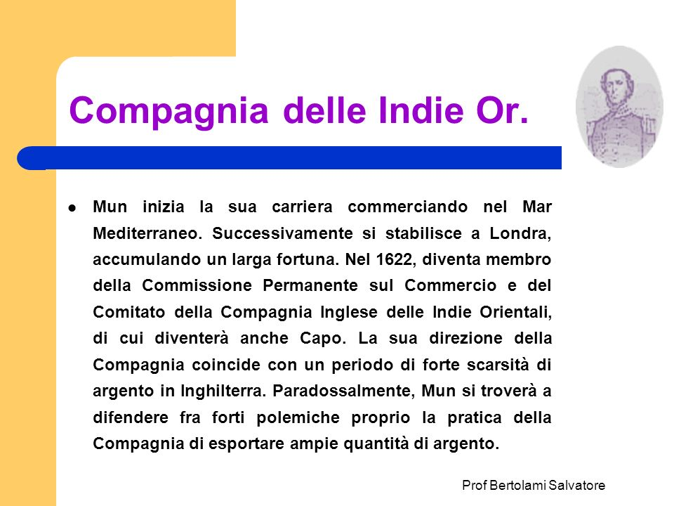 Compagnia delle Indie Or.