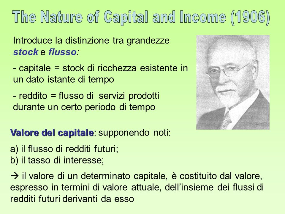 The Nature of Capital and Income (1906)