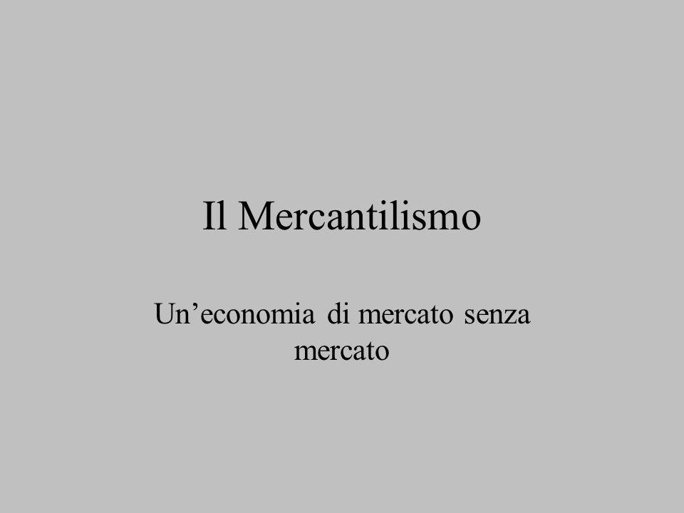 Un'economia di mercato senza mercato