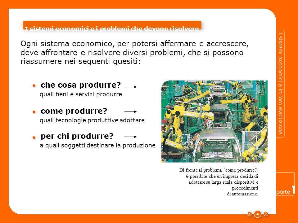 I sistemi economici e i problemi che devono risolvere
