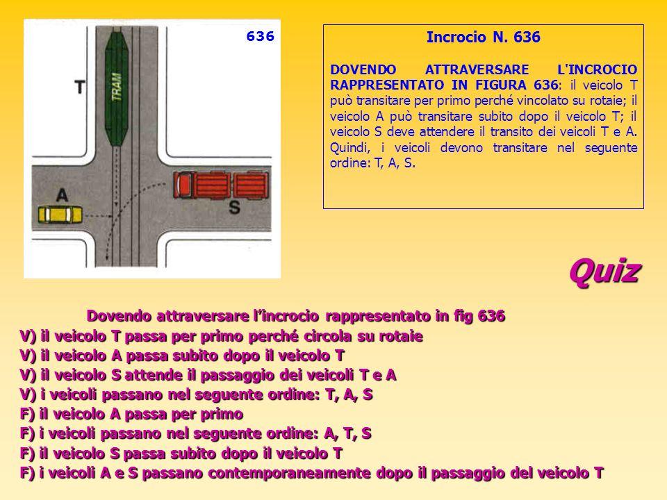 636 Incrocio N. 636.