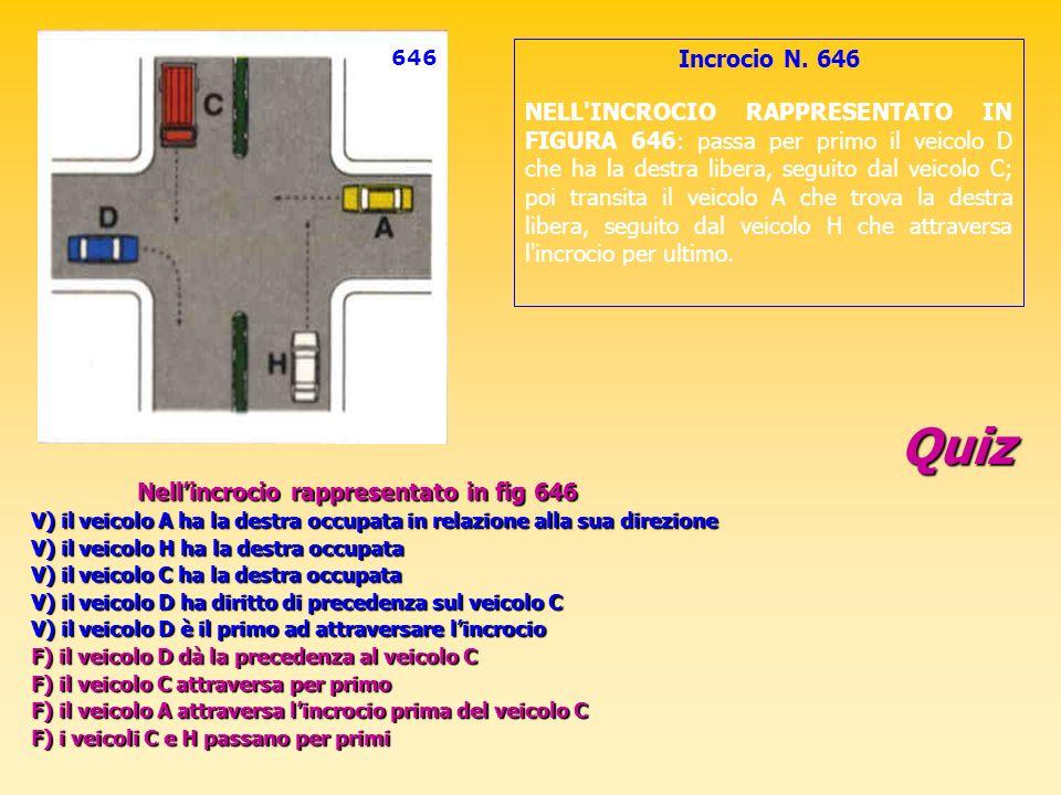 646 Incrocio N. 646.