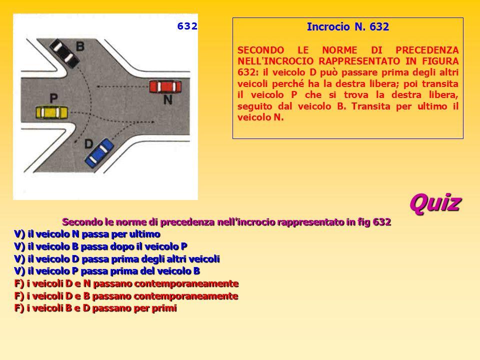 632 Incrocio N. 632.