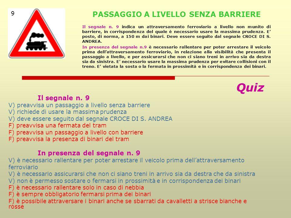 PASSAGGIO A LIVELLO SENZA BARRIERE