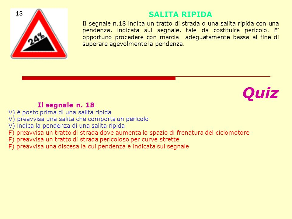 18 SALITA RIPIDA.