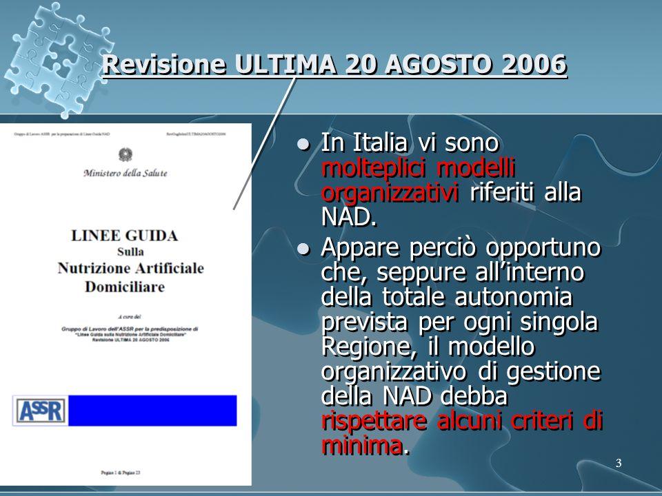 Revisione ULTIMA 20 AGOSTO 2006
