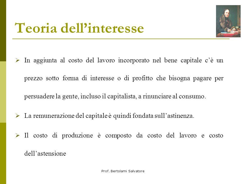 Teoria dell'interesse