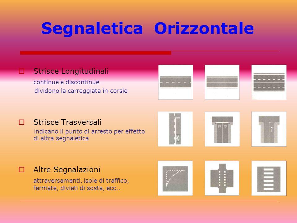Segnaletica Orizzontale