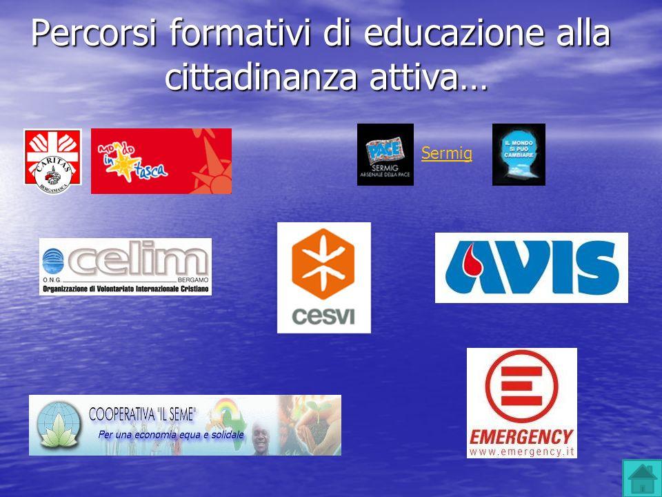 Percorsi formativi di educazione alla cittadinanza attiva…