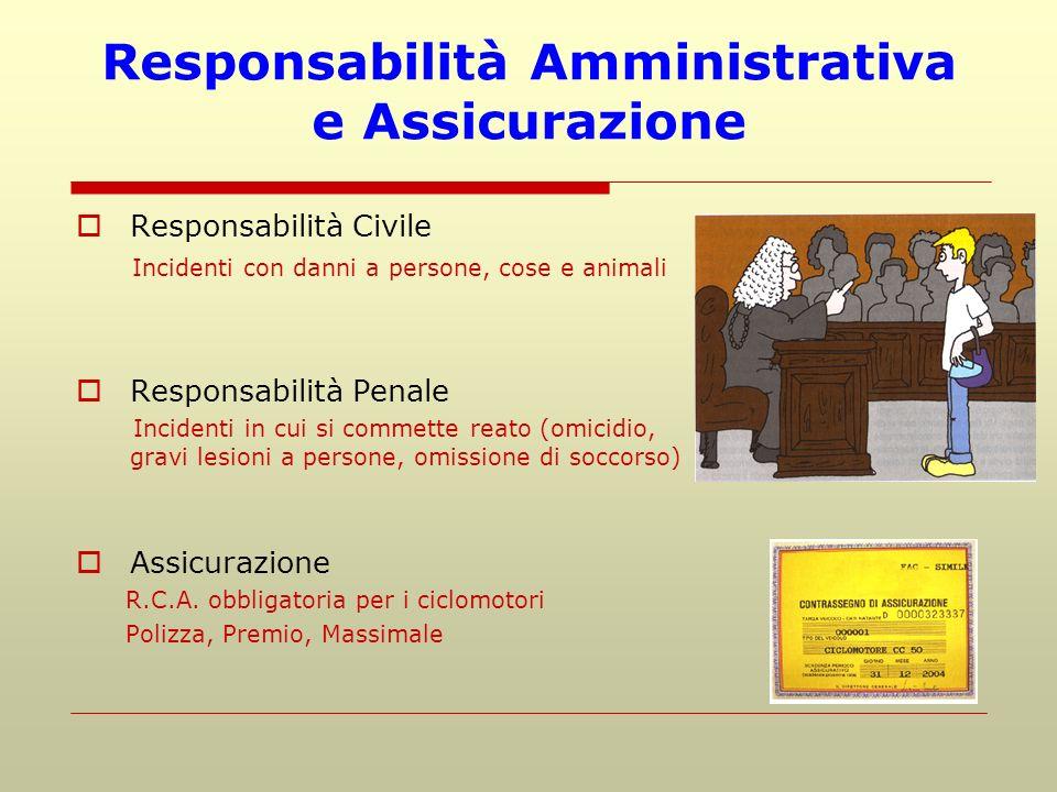 Responsabilità Amministrativa e Assicurazione