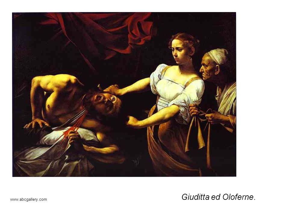 Giuditta ed Oloferne. www.abcgallery.com