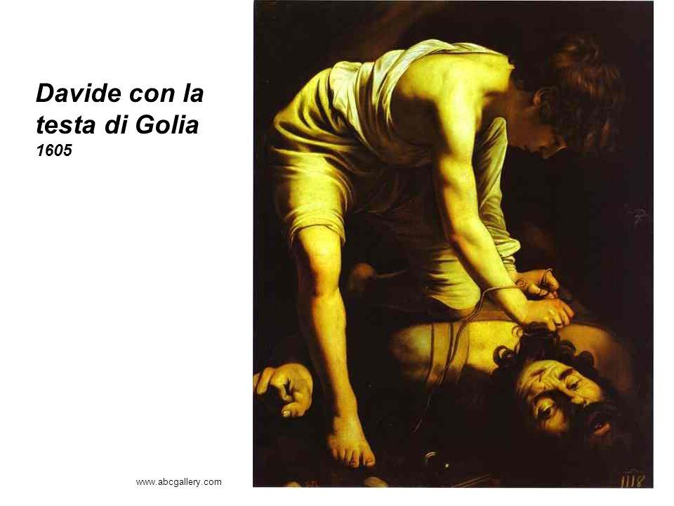 Davide con la testa di Golia 1605
