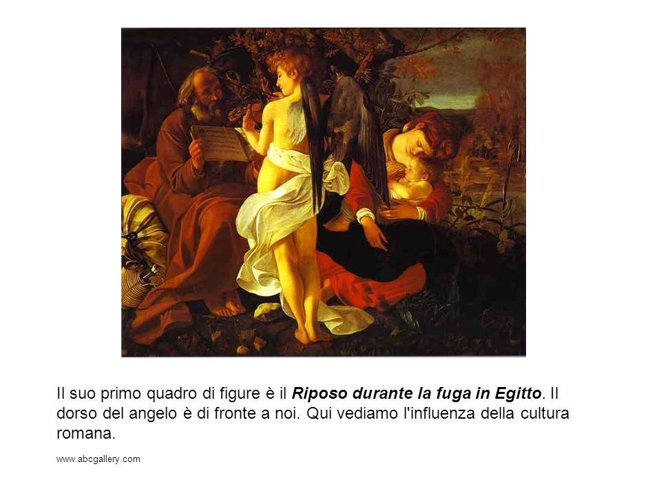 Il suo primo quadro di figure è il Riposo durante la fuga in Egitto