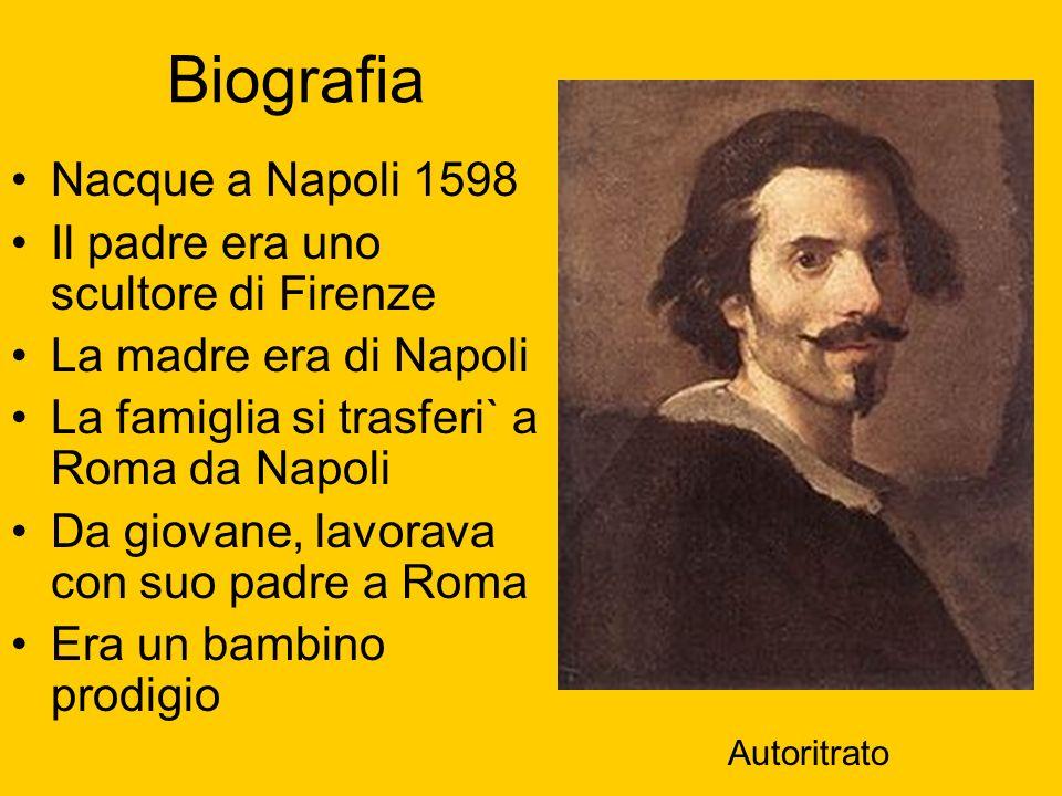 Biografia Nacque a Napoli 1598 Il padre era uno scultore di Firenze