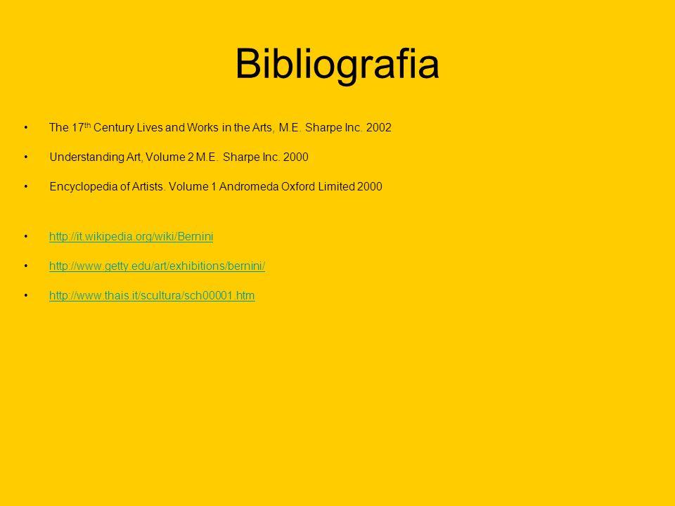 BibliografiaThe 17th Century Lives and Works in the Arts, M.E. Sharpe Inc. 2002. Understanding Art, Volume 2 M.E. Sharpe Inc. 2000.