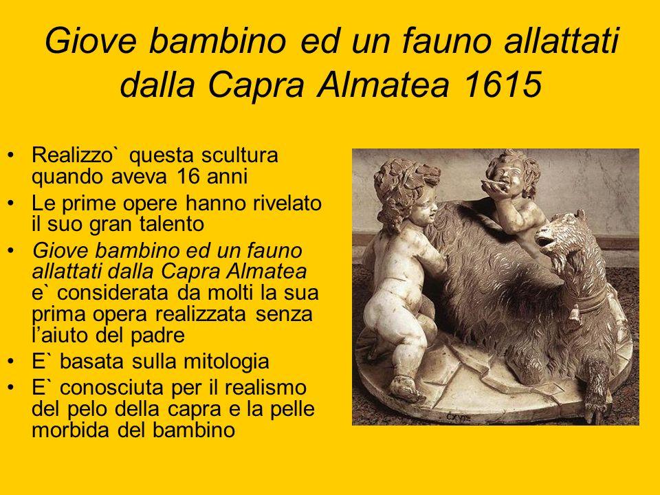 Giove bambino ed un fauno allattati dalla Capra Almatea 1615