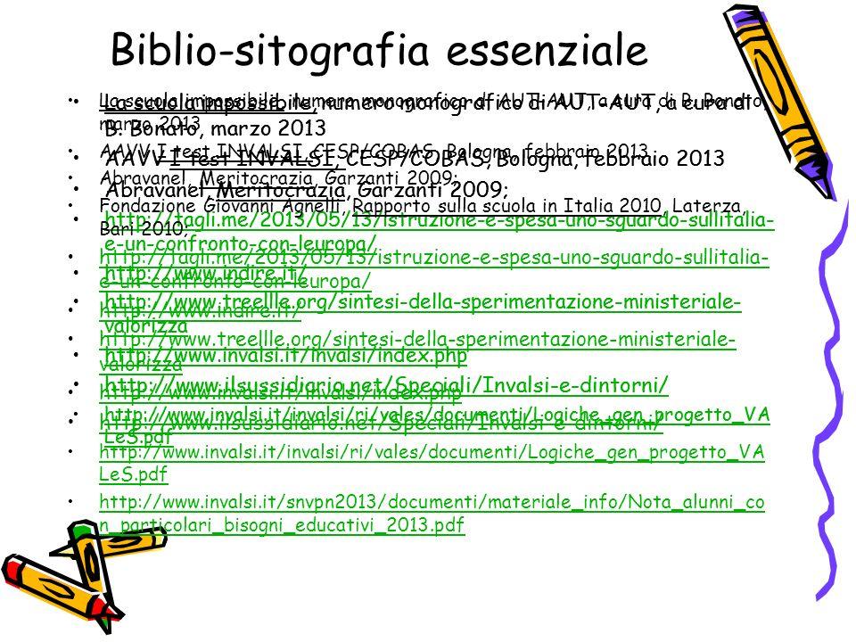 Biblio-sitografia essenziale