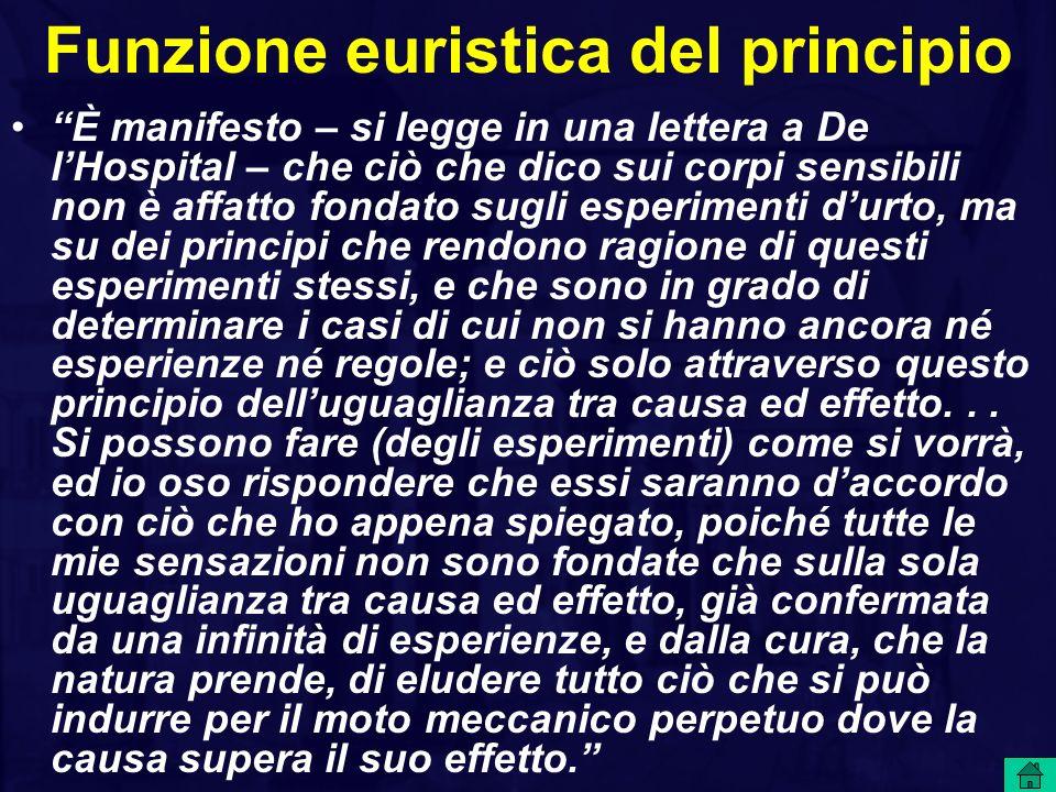 Funzione euristica del principio