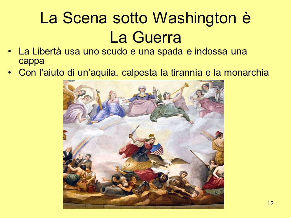 La Scena sotto Washington è La Guerra