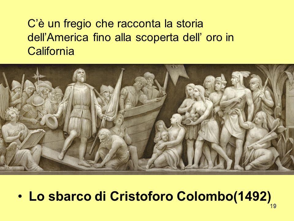 Lo sbarco di Cristoforo Colombo(1492)
