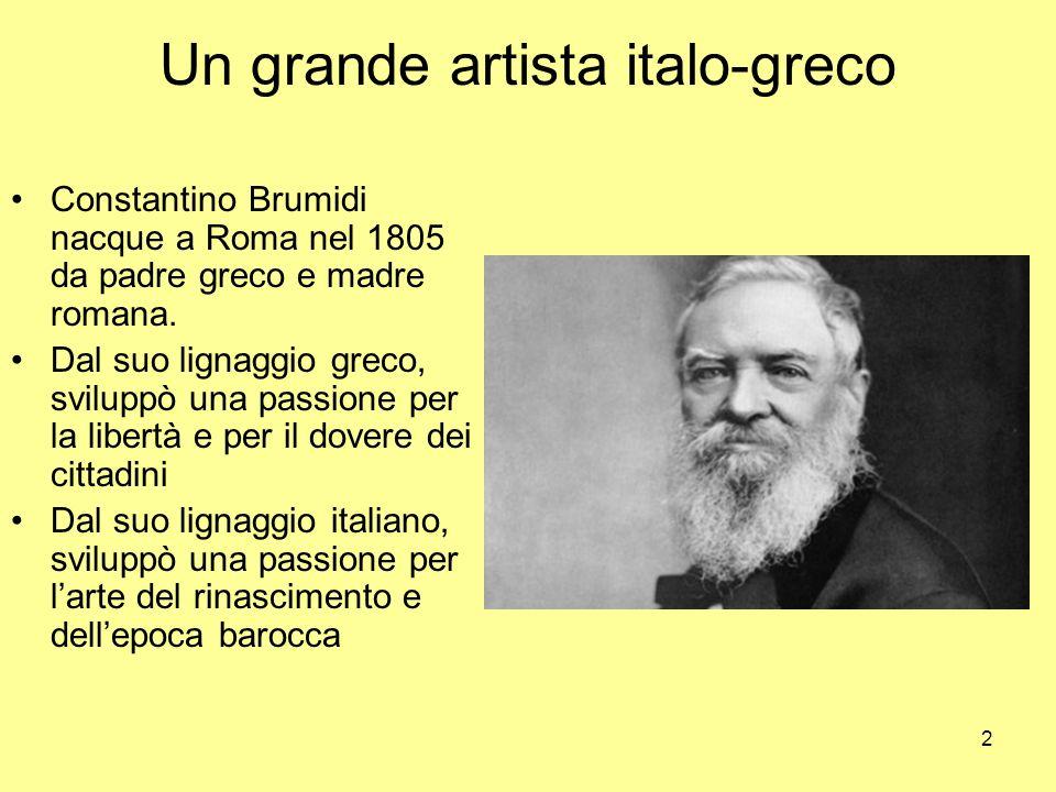 Un grande artista italo-greco