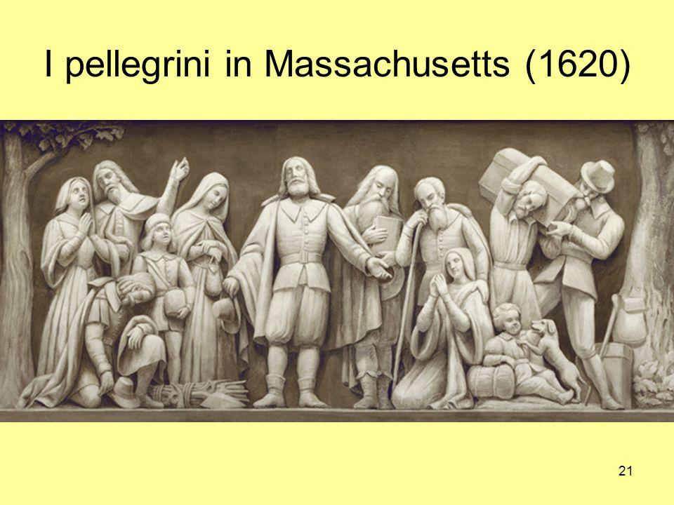 I pellegrini in Massachusetts (1620)