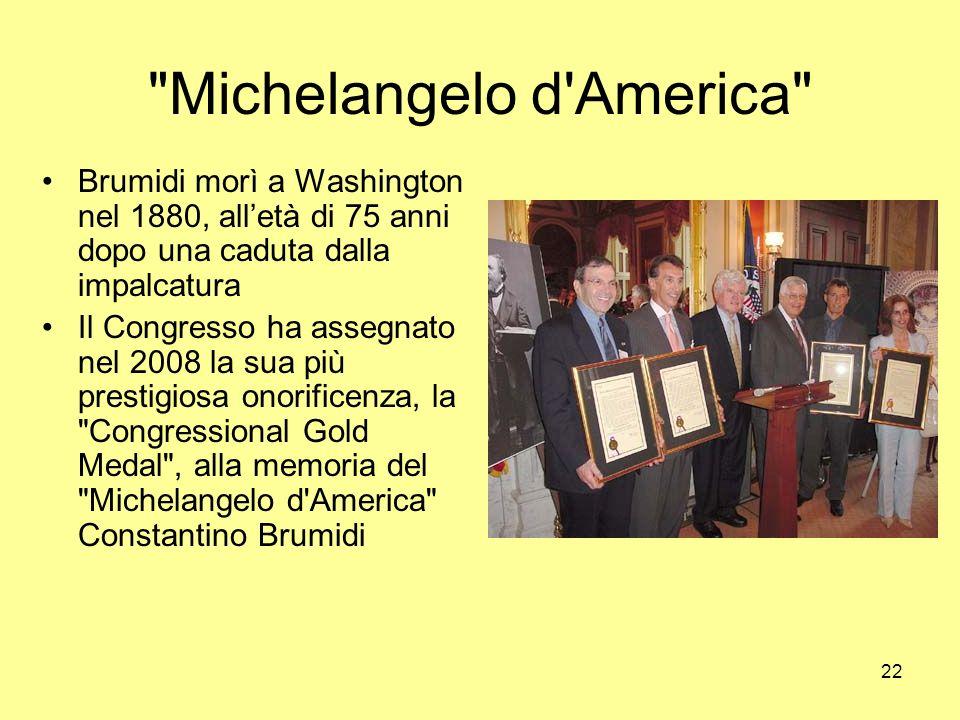 Michelangelo d America