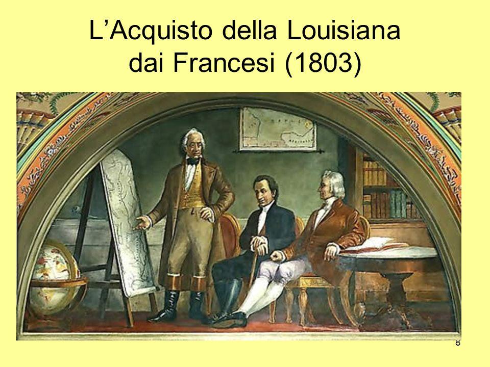 L'Acquisto della Louisiana dai Francesi (1803)
