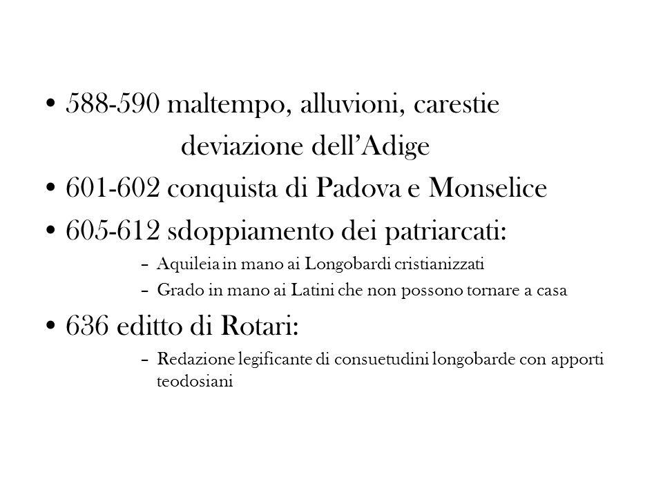 588-590 maltempo, alluvioni, carestie deviazione dell'Adige