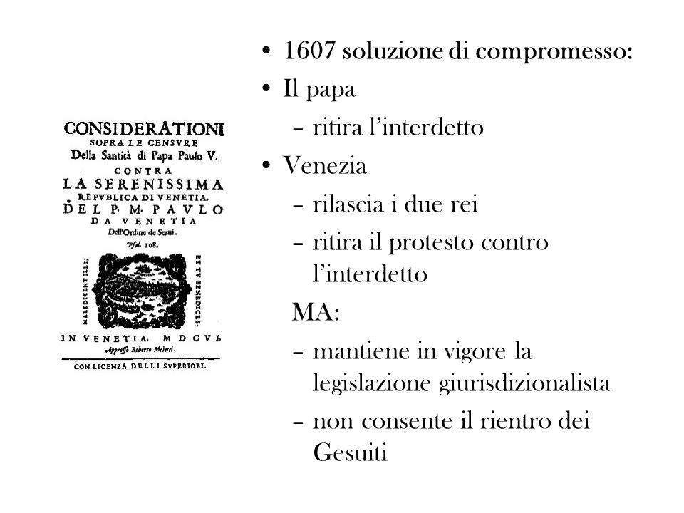 1607 soluzione di compromesso: