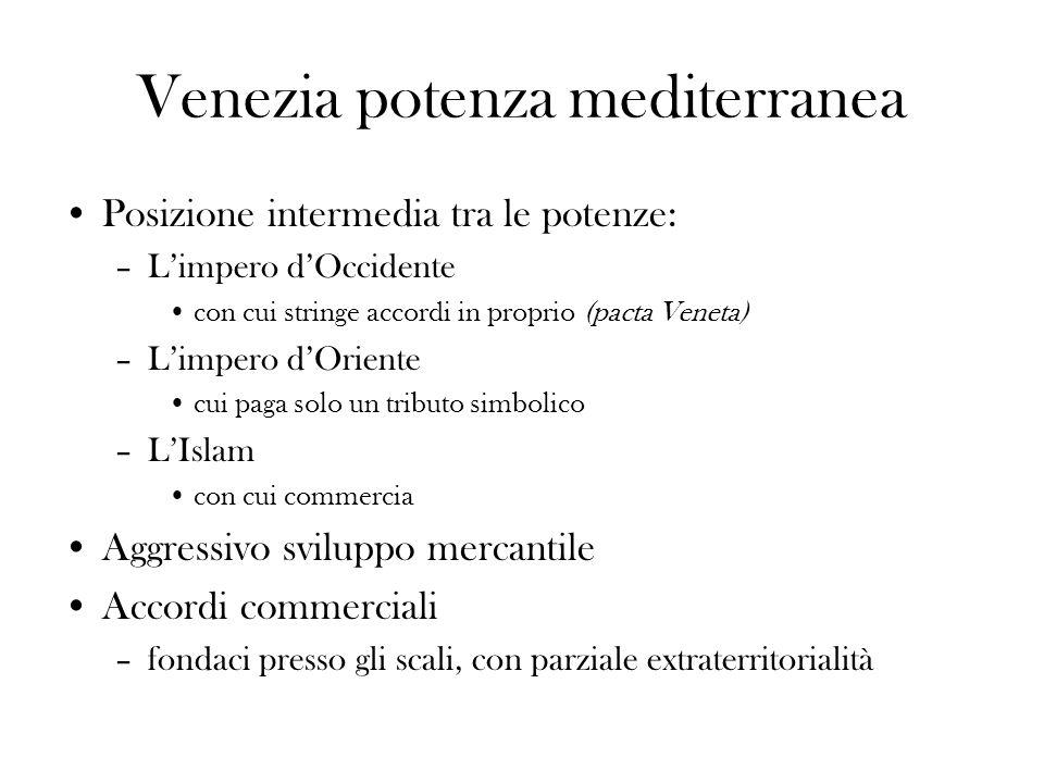 Venezia potenza mediterranea
