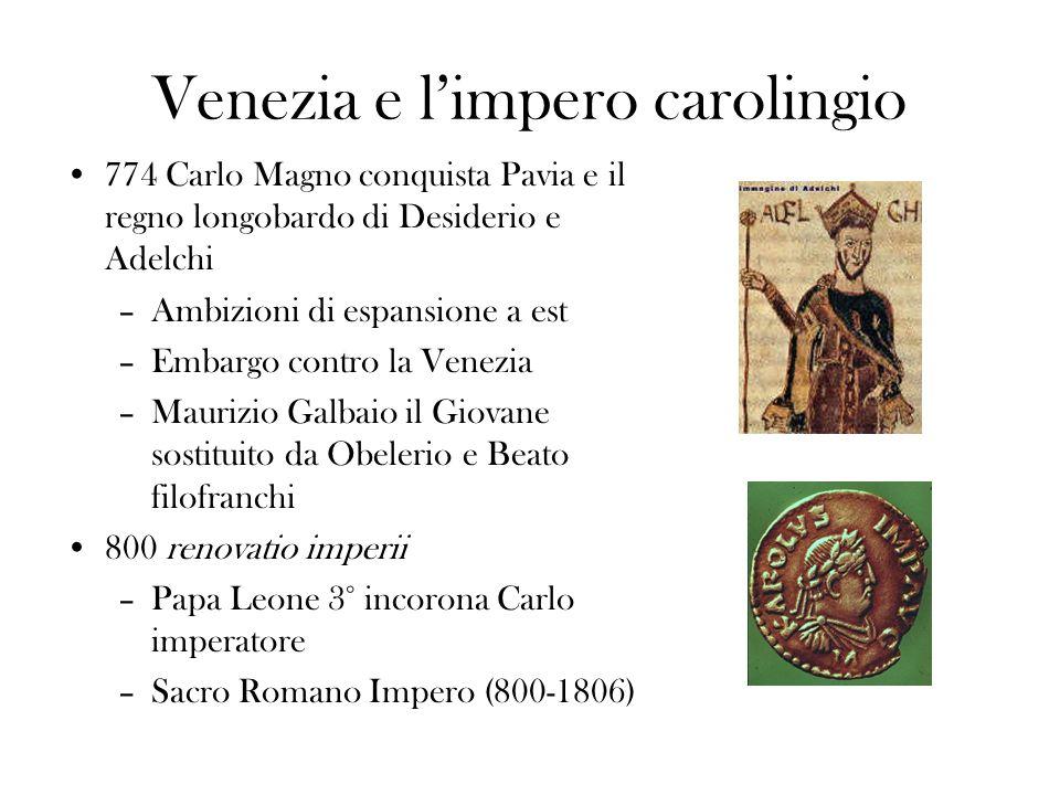 Venezia e l'impero carolingio